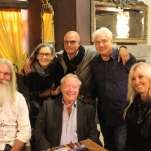Organisers with Sindaco Fabio Menicacci